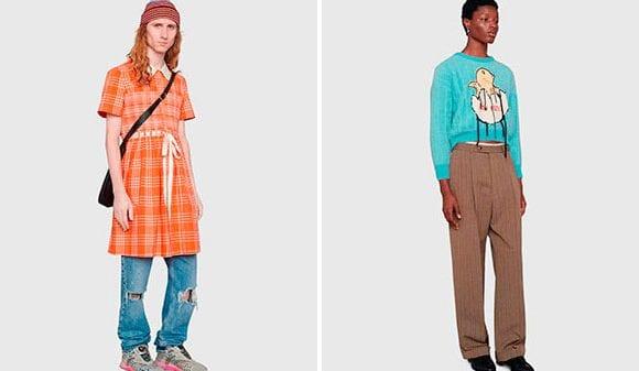 Gucci MX, a gender-neutral collection  Gucci MX, a gender-neutral collection Vanity Teen Menswear & new faces magazine