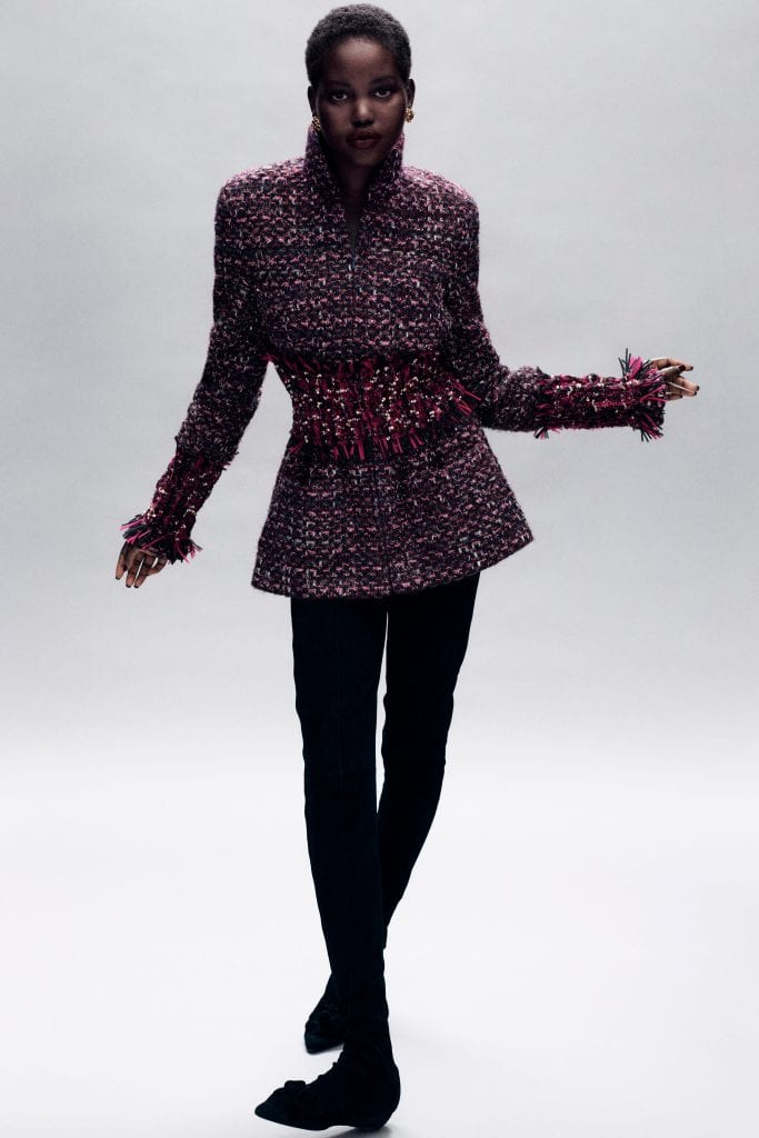 Chanel A/W 2020-21 haute couture collection  Chanel A/W 2020-21 haute couture collection Vanity Teen Menswear & new faces magazine