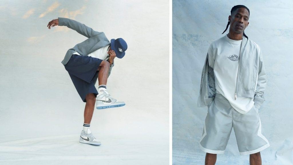 AIR DIOR campaign ft Travis Scott AIR DIOR campaign ft Travis Scott Vanity Teen 虚荣青年 Menswear & new faces magazine