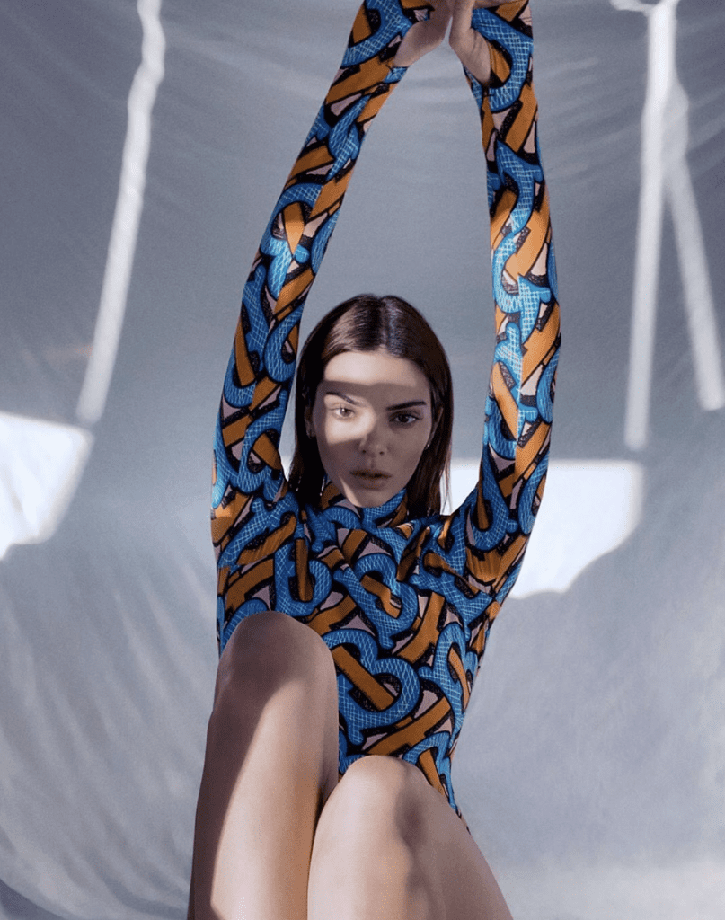 """Kendall Jenner is the face for Burberry's  """"summer monogram"""" capsule collection  Kendall Jenner is the face for Burberry's  """"summer monogram"""" capsule collection Vanity Teen Menswear & new faces magazine"""