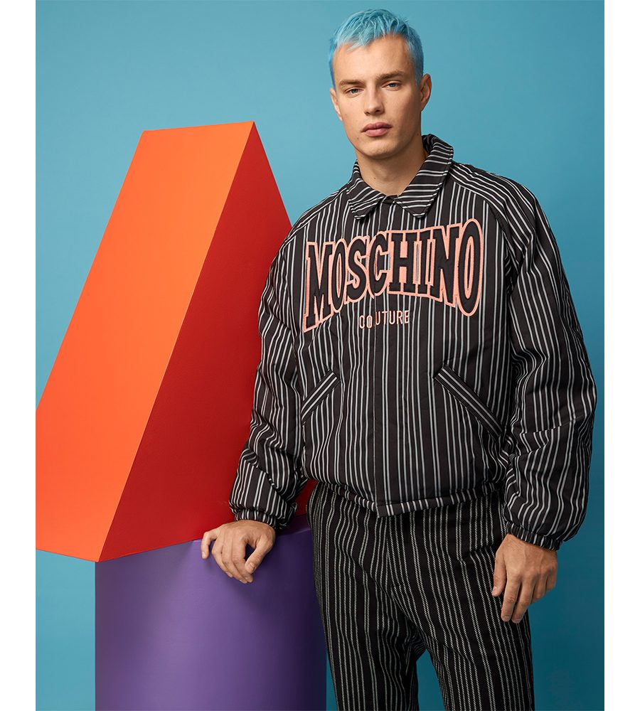 Moschino SS21 Moschino SS21 Vanity Teen Menswear & new faces magazine
