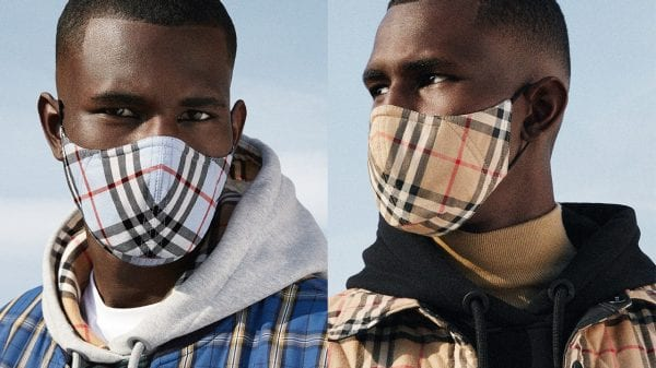 Burberry's Antimicrobial Face Masks Burberry's Antimicrobial Face Masks Vanity Teen Menswear & new faces magazine