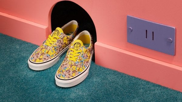 'The Simpsons' x Vans Collection  'The Simpsons' x Vans Collection Vanity Teen Menswear & new faces magazine