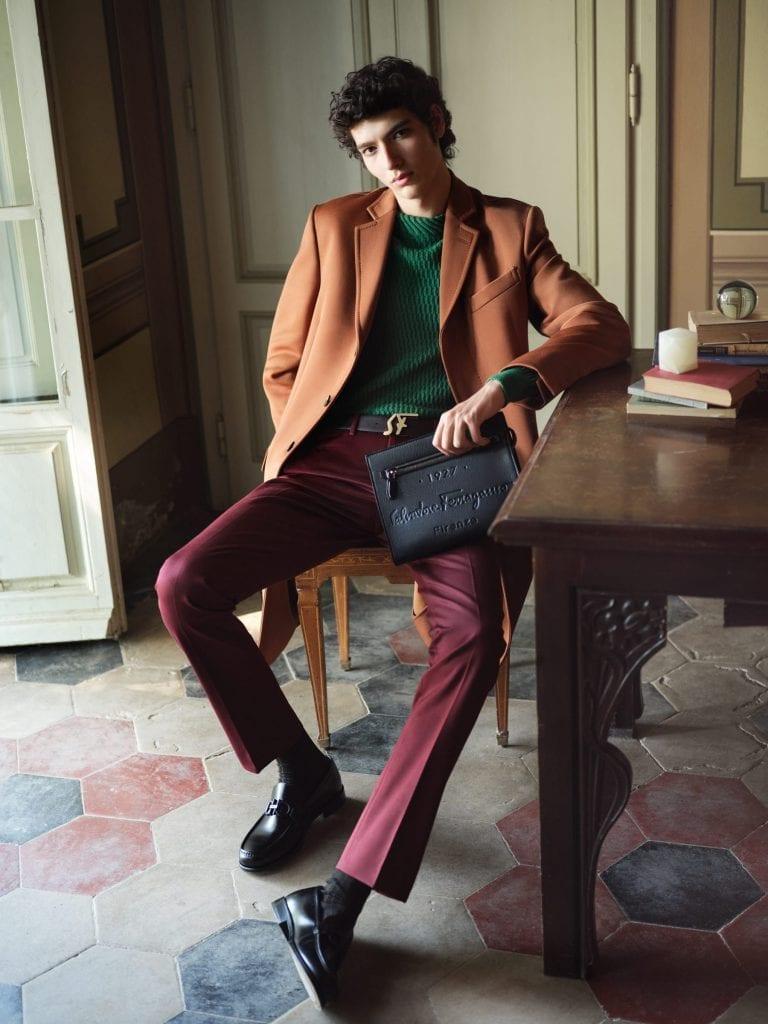 Salvatore Ferragamo Tornabuoni 1927 Salvatore Ferragamo Tornabuoni 1927 Vanity Teen 虚荣青年 Menswear & new faces magazine