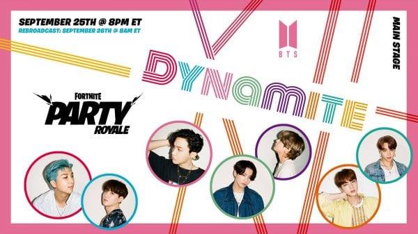 BTS x Fortnite: Dynamite Choreography Version To Debut On Party Royale BTS x Fortnite: Dynamite Choreography Version To Debut On Party Royale Vanity Teen 虚荣青年 Menswear & new faces magazine