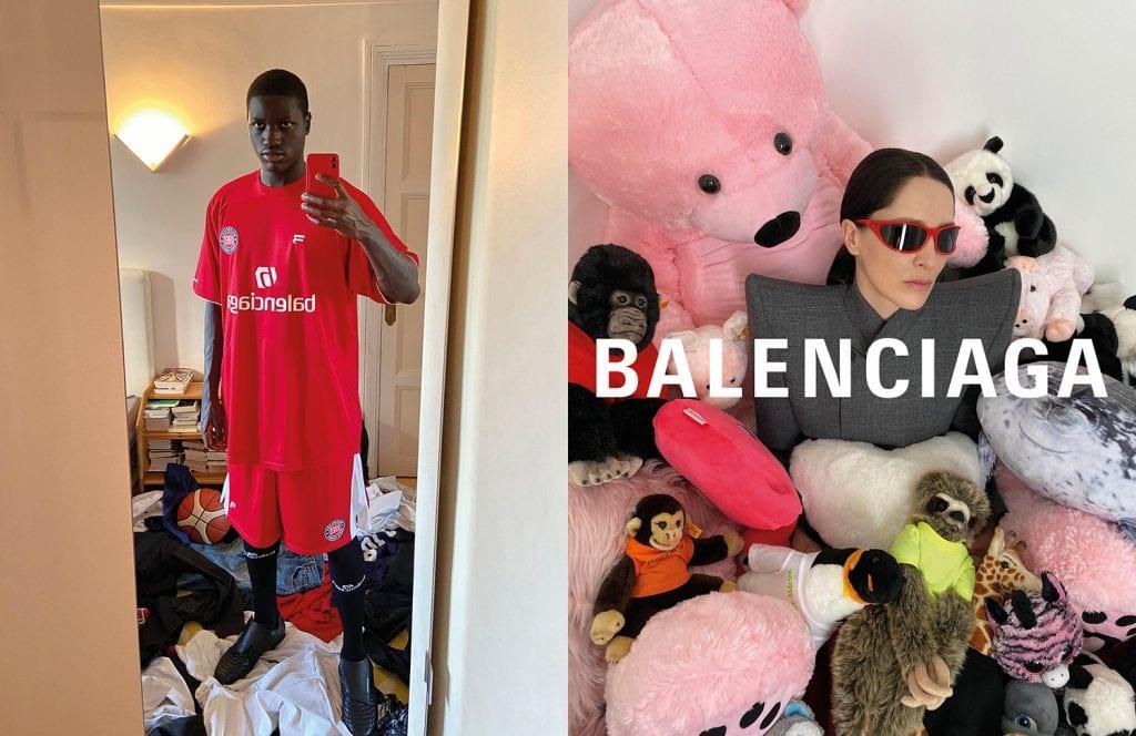 BALENCIAGA Releases the 2020 Winter Campaign BALENCIAGA Releases the 2020 Winter Campaign Vanity Teen Menswear & new faces magazine