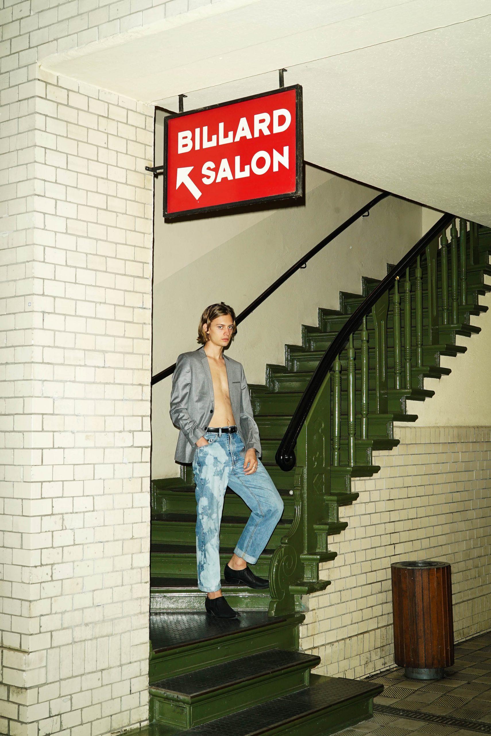 Szymon by Ron Flieger Szymon by Ron Flieger Vanity Teen Menswear & new faces magazine