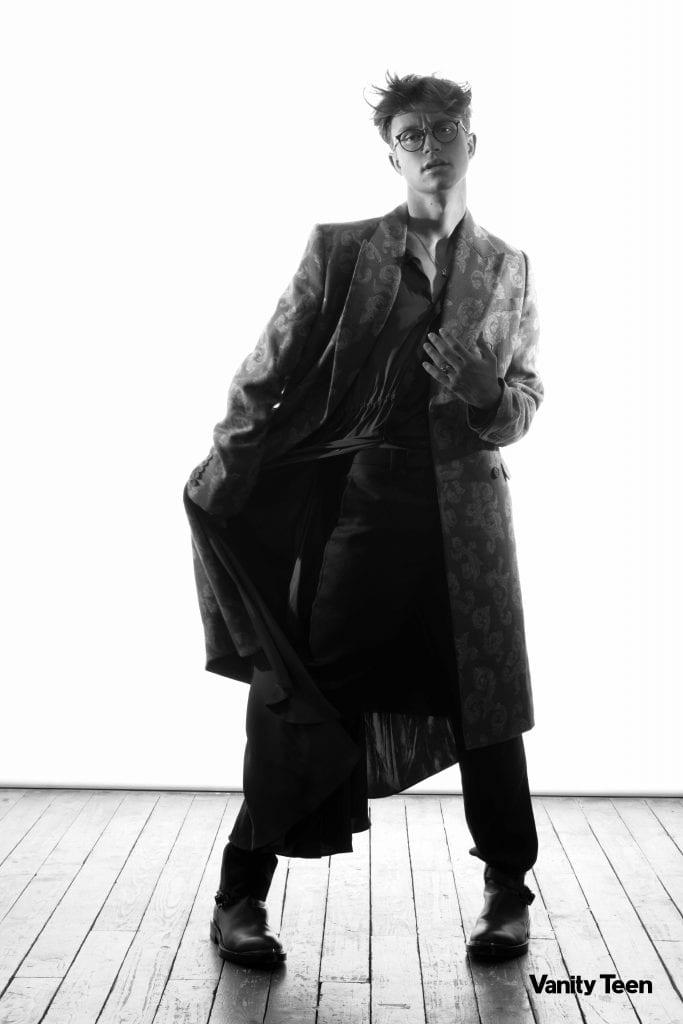"Cover Story - Sundy Jules Exclusive ""Dior FW20"" Cover Story - Sundy Jules Exclusive ""Dior FW20"" Vanity Teen 虚荣青年 Menswear & new faces magazine"