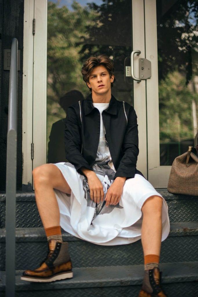 Ben Jordan by Anna Garbowska Ben Jordan by Anna Garbowska Vanity Teen 虚荣青年 Menswear & new faces magazine
