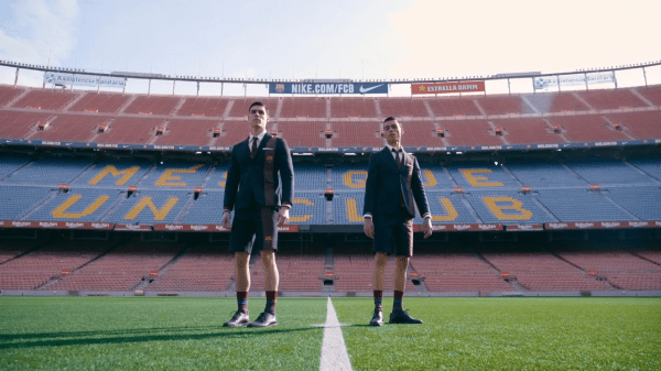 thom browne x FC Barcelona capsule collection thom browne x FC Barcelona capsule collection Vanity Teen Menswear & new faces magazine