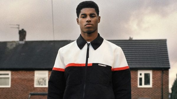 Burberry and Marcus Rashford join forces for a greater good Burberry and Marcus Rashford join forces for a greater good Vanity Teen Menswear & new faces magazine