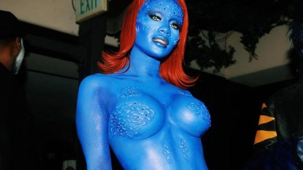 Trick-or-makeup: celebs using costumes and a lot of body painting Trick-or-makeup: celebs using costumes and a lot of body painting Vanity Teen 虚荣青年 Menswear & new faces magazine