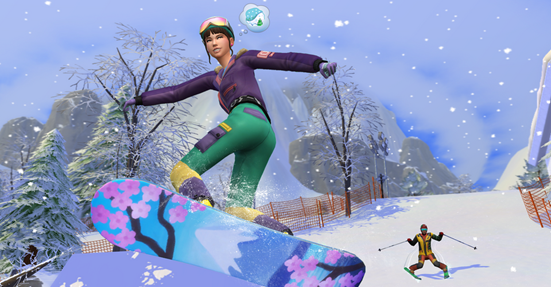 Everything You Need To Know About The Sims 4: Snowy Escape Everything You Need To Know About The Sims 4: Snowy Escape Vanity Teen 虚荣青年 Lifestyle & new faces magazine