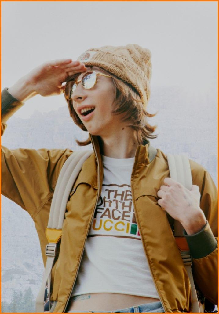 Gucci x The North Face Capsule Collection Gucci x The North Face Capsule Collection Vanity Teen 虚荣青年 Menswear & new faces magazine