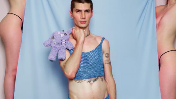 Rainbow Wool by Fernando Bruno Rainbow Wool by Fernando Bruno Vanity Teen Menswear & new faces magazine