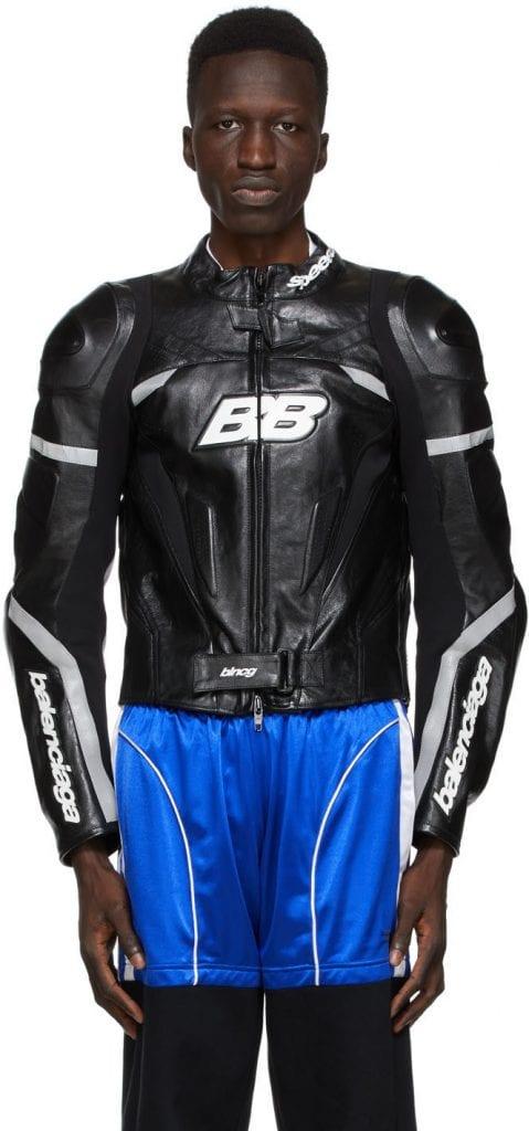 Biker Style: Balenciaga Leather Motorcycle Jacket Biker Style: Balenciaga Leather Motorcycle Jacket Vanity Teen 虚荣青年 Menswear & new faces magazine