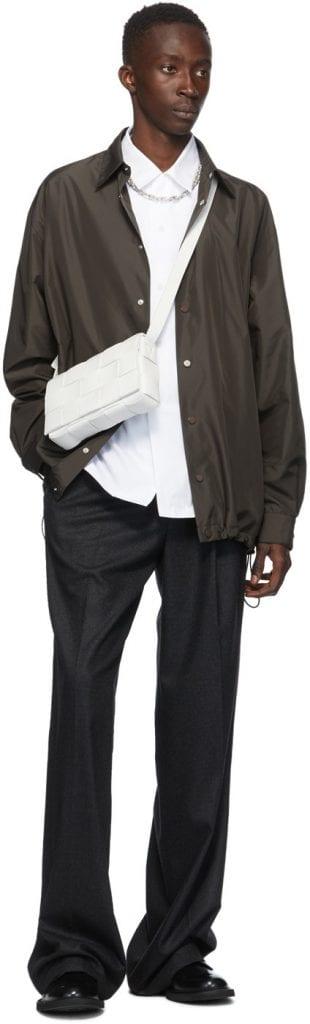 (More Than) A Sliver: Bottega Veneta Silver Chain Necklace (More Than) A Sliver: Bottega Veneta Silver Chain Necklace Vanity Teen 虚荣青年 Menswear & new faces magazine