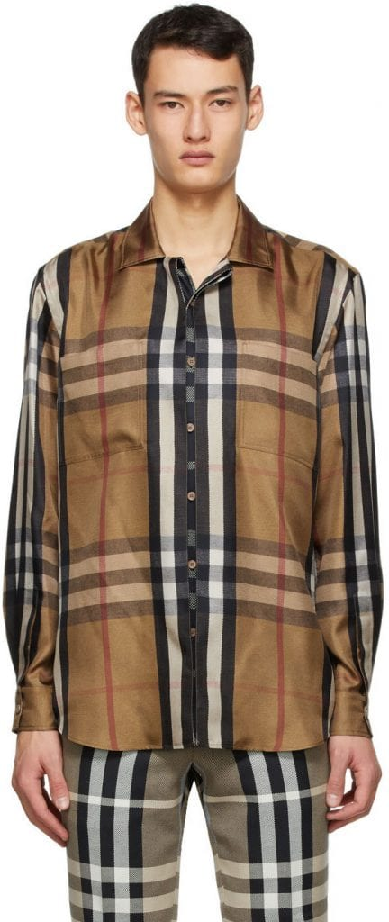 Made for Plaid: Burberry Reconstructed Shirt Made for Plaid: Burberry Reconstructed Shirt Vanity Teen 虚荣青年 Menswear & new faces magazine