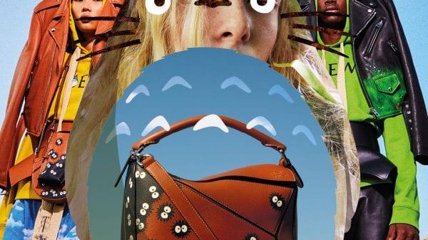 LOEWE x My Neighbor Totoro LOEWE x My Neighbor Totoro Vanity Teen Menswear & new faces magazine