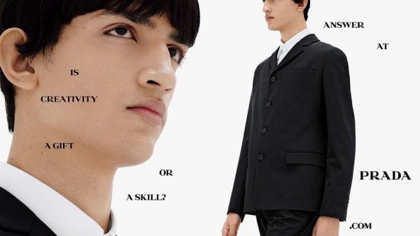 Prada Spring/Summer 2021 Campaign Prada Spring/Summer 2021 Campaign Vanity Teen 虚荣青年 Menswear & new faces magazine