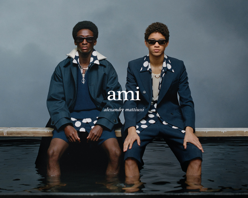 AMI Spring/Summer 2021 Campaign AMI Spring/Summer 2021 Campaign Vanity Teen 虚荣青年 Lifestyle & new faces magazine