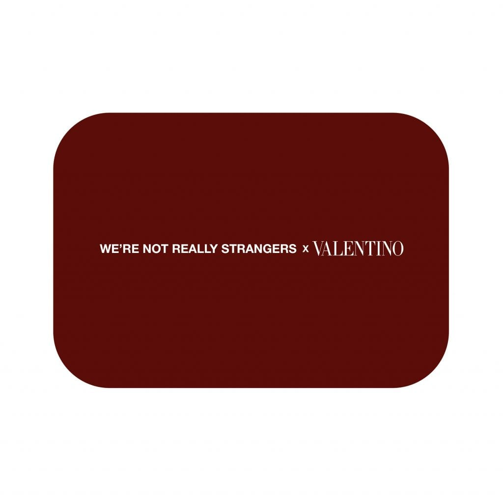 WE ARE NOT REALLY STRANGERS x VALENTINO WE ARE NOT REALLY STRANGERS x VALENTINO Vanity Teen 虚荣青年 Menswear & new faces magazine