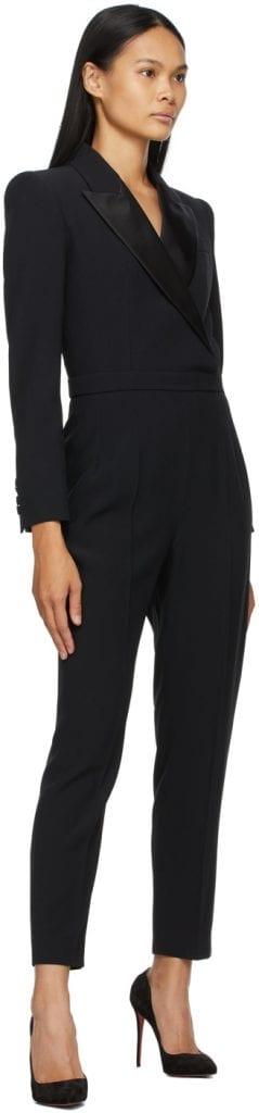 Dress For Power: Alexander McQueen Tuxedo Jumpsuit Dress For Power: Alexander McQueen Tuxedo Jumpsuit Vanity Teen 虚荣青年 Menswear & new faces magazine
