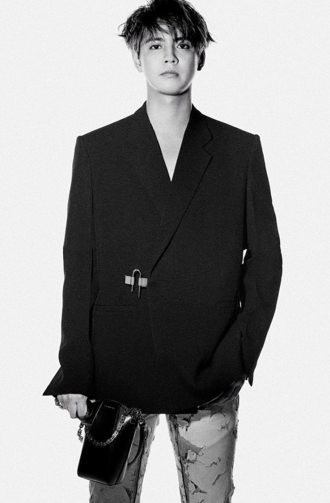 Ryota Katayose Appointed Givenchy's Brand Ambassador Ryota Katayose Appointed Givenchy's Brand Ambassador Vanity Teen 虚荣青年 Menswear & new faces magazine