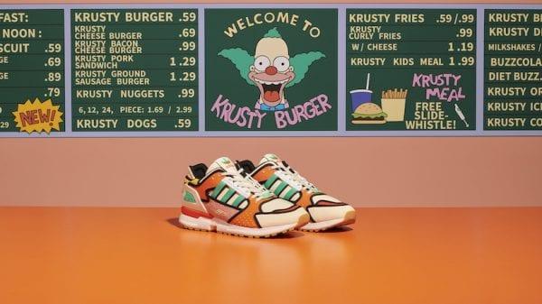 Adidas ZX 10000 Krusty Burger Shoes Adidas ZX 10000 Krusty Burger Shoes Vanity Teen 虚荣青年 Menswear & new faces magazine