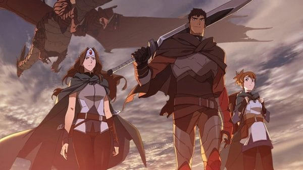 Netflix released a trailer for DOTA: Dragon's Blood, the new series based on Valve's acclaimed game Netflix released a trailer for DOTA: Dragon's Blood, the new series based on Valve's acclaimed game Vanity Teen 虚荣青年 Menswear & new faces magazine