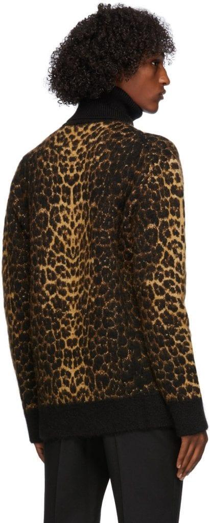Animals Galore: Saint Laurent Leopard Turtleneck Animals Galore: Saint Laurent Leopard Turtleneck Vanity Teen 虚荣青年 Menswear & new faces magazine