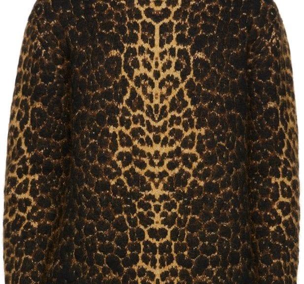 Animals Galore: Saint Laurent Leopard Turtleneck Animals Galore: Saint Laurent Leopard Turtleneck Vanity Teen 虚荣青年 Lifestyle & new faces magazine