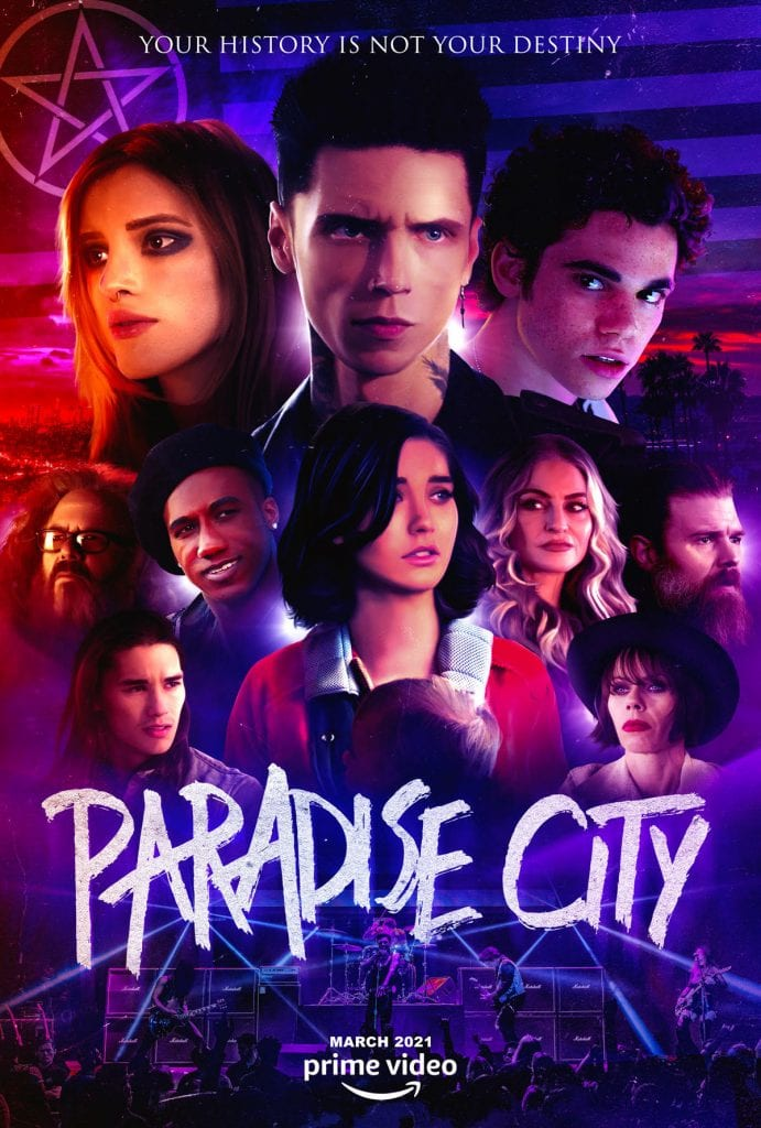 Paradise City official poster