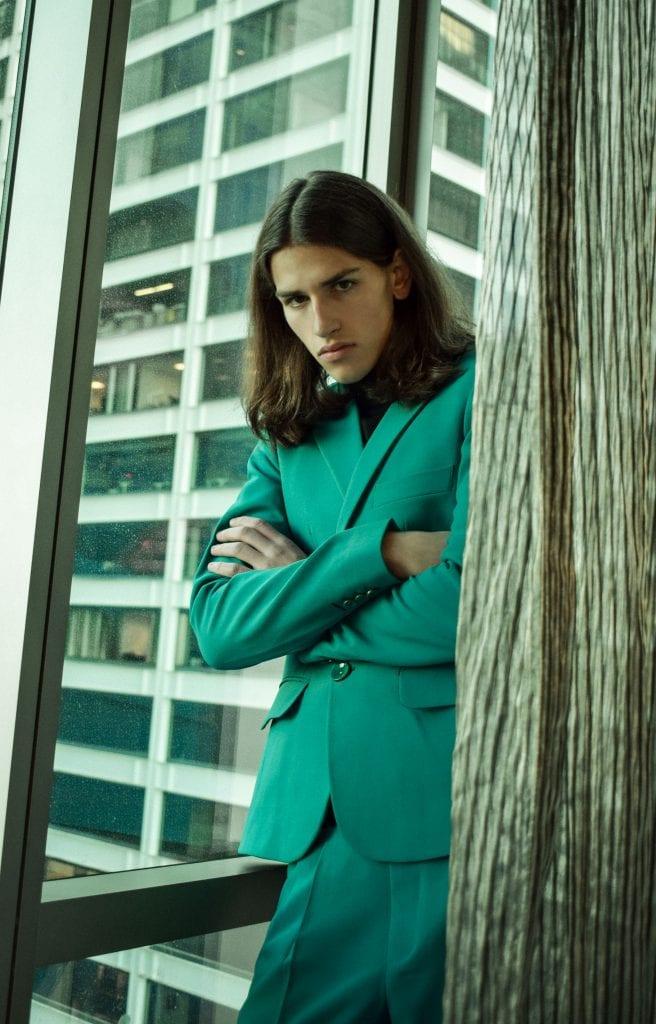 Lurking on Wall Street by Elys Berroteran Lurking on Wall Street by Elys Berroteran Vanity Teen 虚荣青年 Menswear & new faces magazine