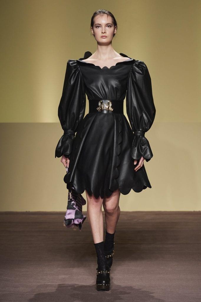 Abodi AW21/22. Black dress