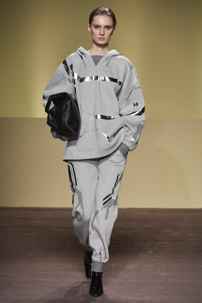 THEFOUR gray dress