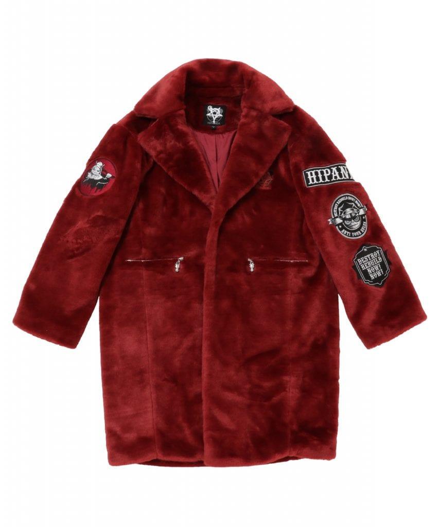 HIDE x HIPANDA Fur Coat