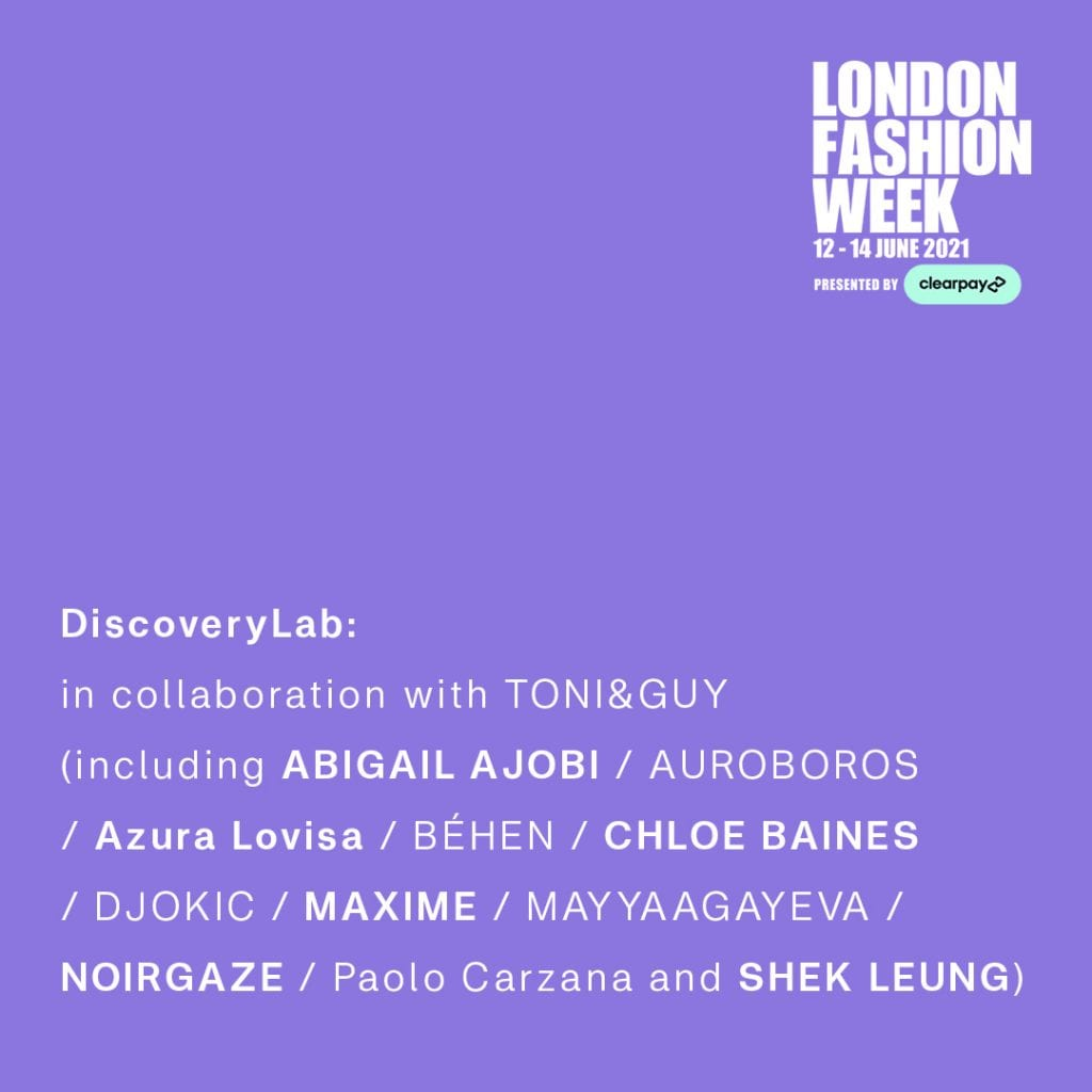 London Fashion Week June 2021: Provisional Schedule London Fashion Week June 2021: Provisional Schedule Vanity Teen 虚荣青年 Menswear & new faces magazine