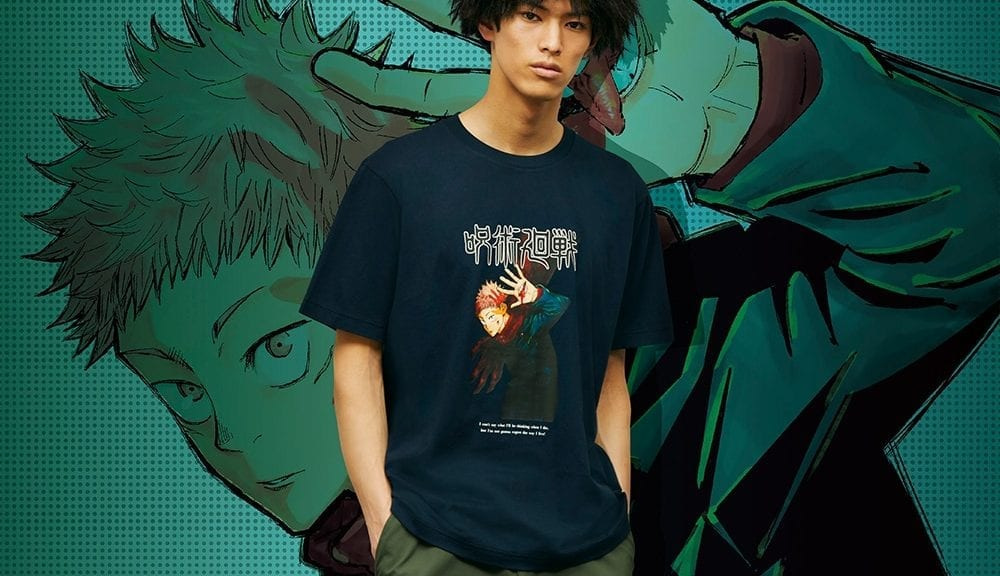 Jujutsu Kaisen x Uniqlo: Cursed T-shirt Fashion Domain Expansion Jujutsu Kaisen x Uniqlo: Cursed T-shirt Fashion Domain Expansion Vanity Teen 虚荣青年 Lifestyle & new faces magazine
