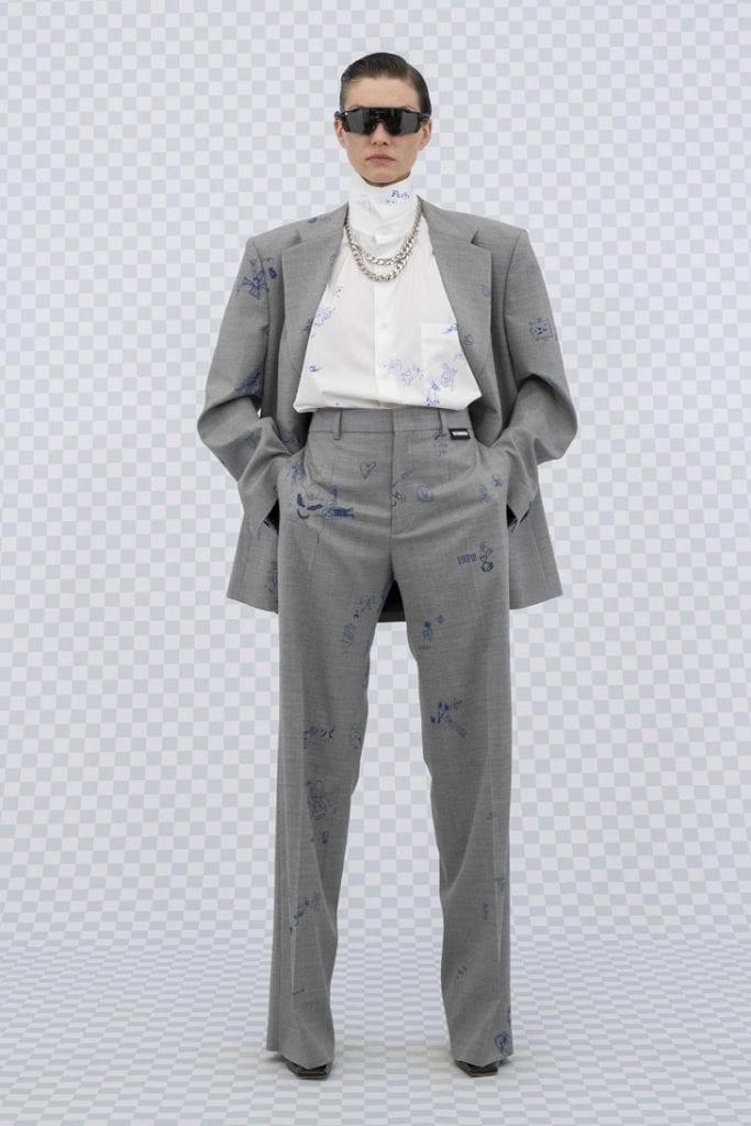 Vetements SS22 Collection Vetements SS22 Collection Vanity Teen 虚荣青年 Menswear & new faces magazine