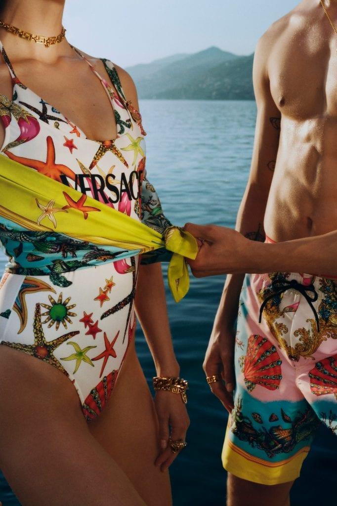 Versace La Vacanza Collection Versace La Vacanza Collection Vanity Teen 虚荣青年 Menswear & new faces magazine