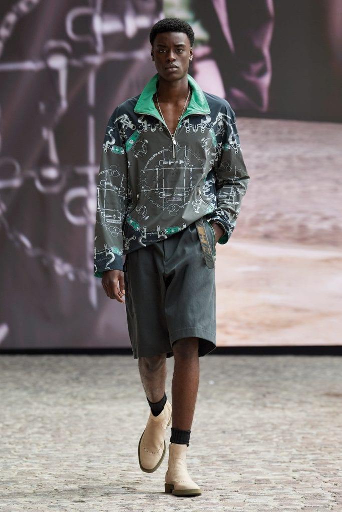 Paris Fashion Week - Day 5: Loewe, Hermès, Andrea Crews Paris Fashion Week - Day 5: Loewe, Hermès, Andrea Crews Vanity Teen 虚荣青年 Menswear & new faces magazine