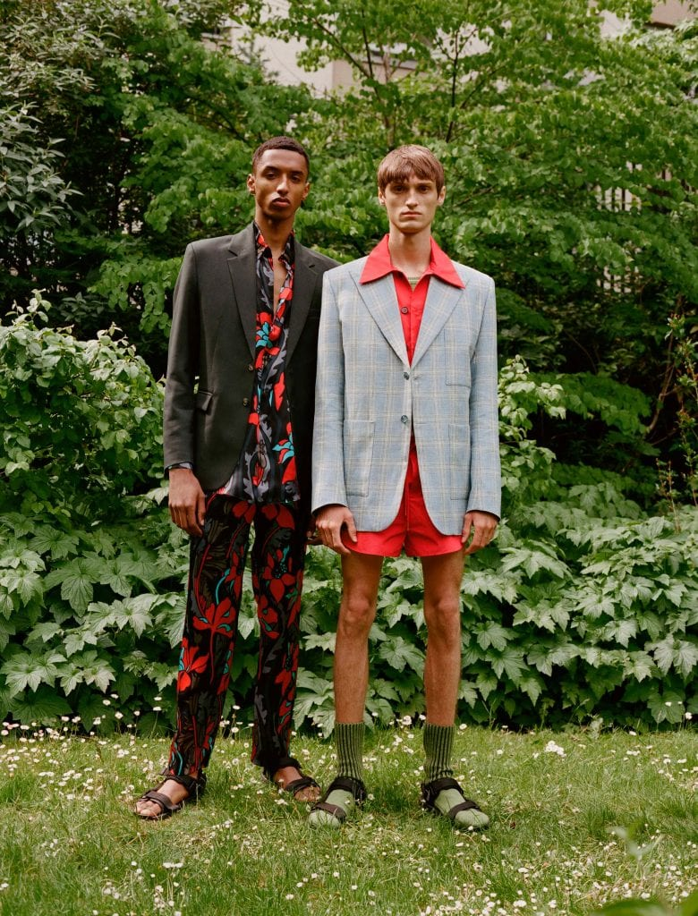 Mans SS22 Summer Camp Collection Mans SS22 Summer Camp Collection Vanity Teen 虚荣青年 Menswear & new faces magazine