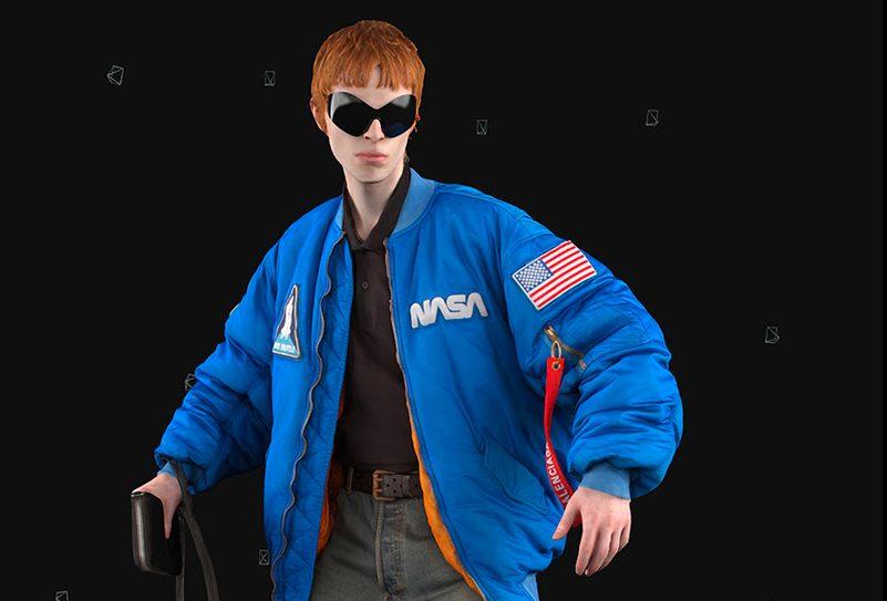 Balenciaga's NASA Items Balenciaga's NASA Items Vanity Teen 虚荣青年 Menswear & new faces magazine