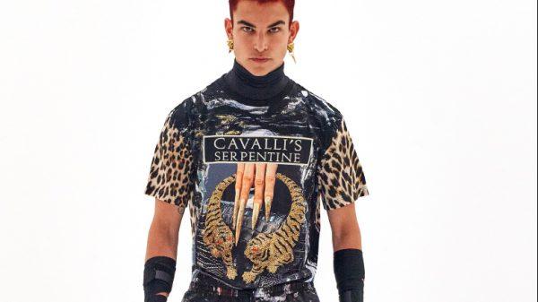 Roberto Cavalli new Men's Spring 2022 collection starring Mike Tyson Roberto Cavalli new Men's Spring 2022 collection starring Mike Tyson Vanity Teen 虚荣青年 Menswear & new faces magazine