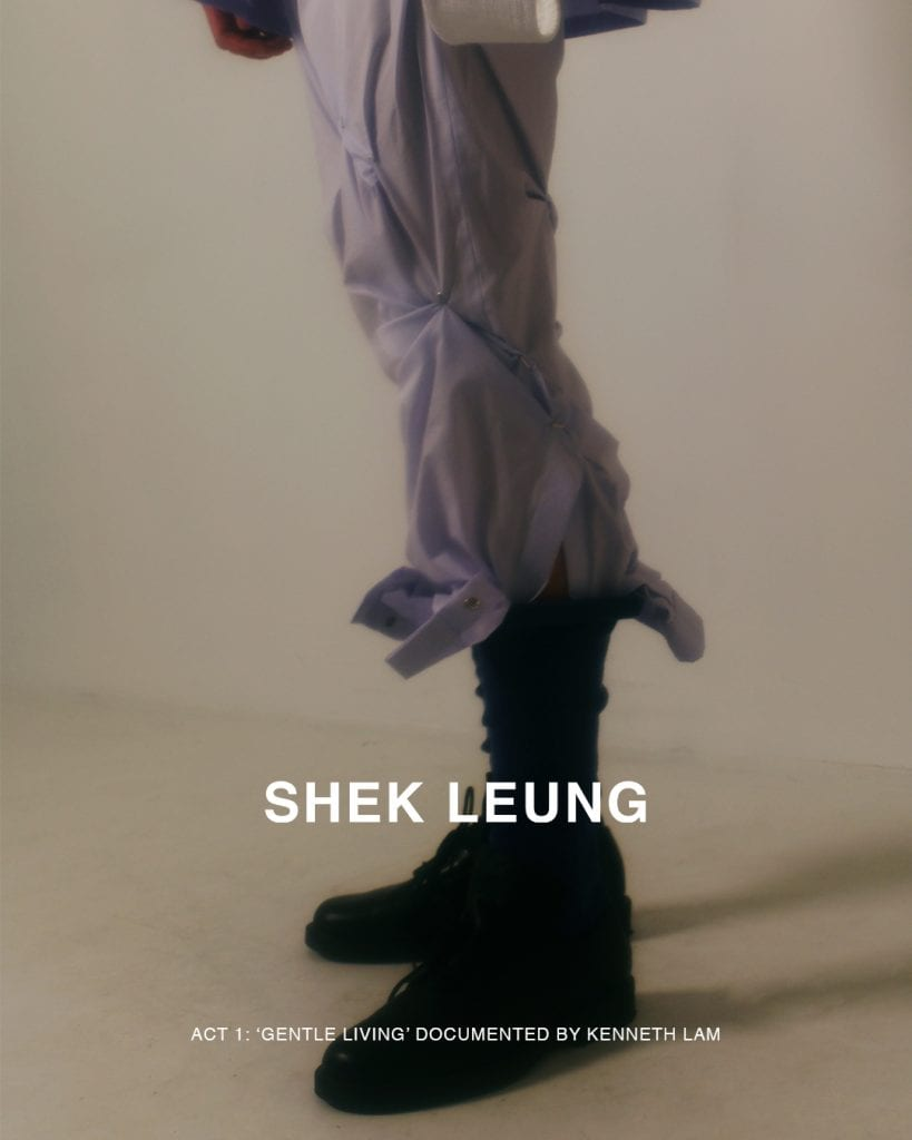 SHEK LEUNG: bringing strength and confidence to quiet hearts SHEK LEUNG: bringing strength and confidence to quiet hearts Vanity Teen 虚荣青年 Menswear & new faces magazine