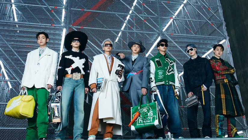Louis Vuitton Men's FW21 Show in Seoul with House Ambassadors BTS Louis Vuitton Men's FW21 Show in Seoul with House Ambassadors BTS Vanity Teen 虚荣青年 Menswear & new faces magazine