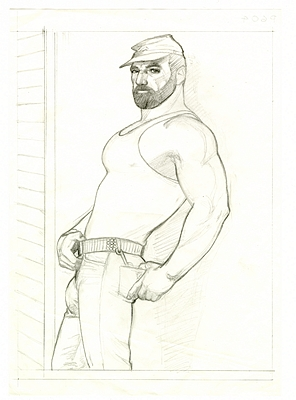 Tom of Finland Foundation: equality and liberation through erotic art Tom of Finland Foundation: equality and liberation through erotic art Vanity Teen 虚荣青年 Menswear & new faces magazine