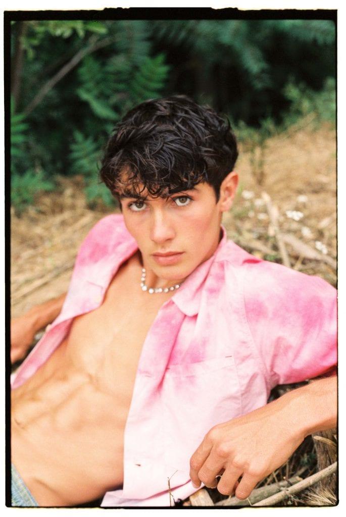 Diego Alvarez by David Garcia Diego Alvarez by David Garcia Vanity Teen 虚荣青年 Menswear & new faces magazine
