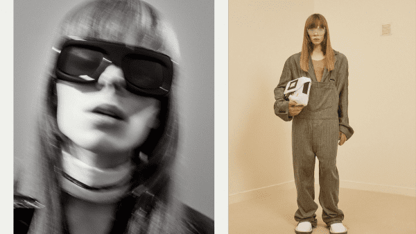 Model and techno producer Laika as the muse of Acne Studios FW21 Model and techno producer Laika as the muse of Acne Studios FW21 Vanity Teen 虚荣青年 Menswear & new faces magazine